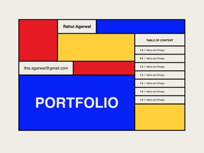Seeking feedback on portfolio cover design bauhaus critique feedback portfolio design portfolio