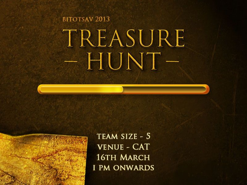 Treasure Hunt Poster poster bitotsav graphic design