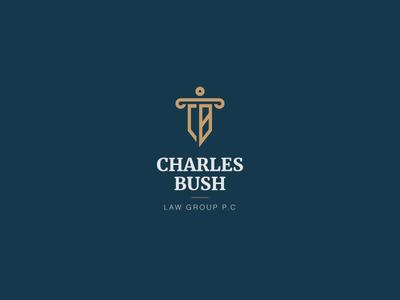 Charles Bush Logo Design