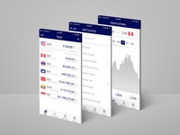 Currency App Design