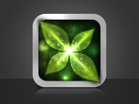 iOS Icon - Leaves