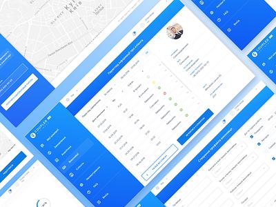 Coupler Business Web app (beta) analitycs management system management app dashboard ui business desktop frontend development ux design ui design web app
