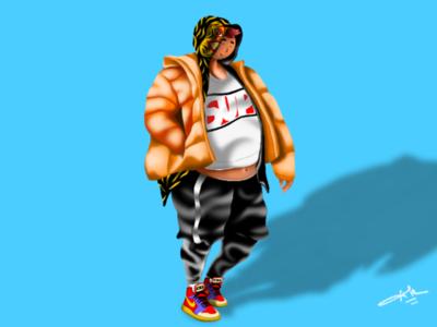 Hypebeast style || Digital Art