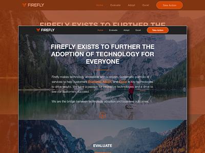 FireFly Web Design branding mobile responsive website design web ui ux flat design web design