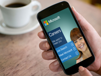 Microsoft Mobile Careers Landing Page