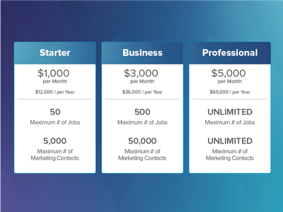 Pricing Table Design pricing table web design branding flat design website ui typography pricing