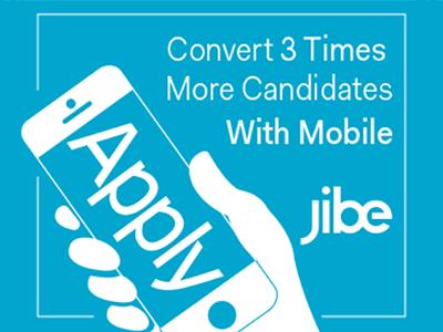 Jibe Apply Banner Ad web ads banner ads mobile web ui design ad google jibe