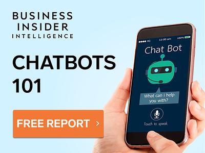 Chatbots 101 Banner Ads web design banner ads marketing ui chatbots banner ads ad