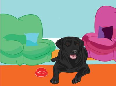 Dog vector design cartoon illustration cartoon character animal art sketch animal illustration animal dog illustration illustration dog