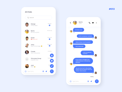 Direct Messaging | 013 ui  ux 013 mobile app design direct message 100daychallenge daily challange ui design icon minimalist app typography designer creative branding design design ui chennai ux