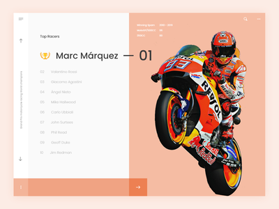 Leaderboard | #019 100 day challenge dailyuichallenge bike racer dashboard leaderboard dashboard ui website minimal icon designer creative branding design design chennai ux ui