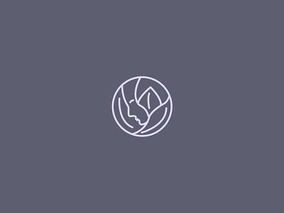 Women flower logo brand cool logo simple clever mark logos monogram woman illustration flower bloom woman