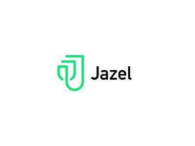 Jazel logo proposal clever mark logos monogram icon j