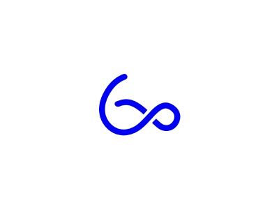 infinity sixty cool logo simple clever mark logos monogram icon sixty 60 infinity infinity sixty