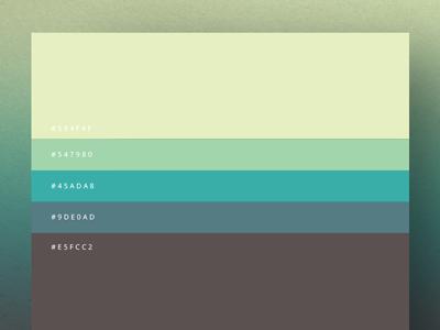 Minimalist #palettes 2015 by Duminda Perera on Dribbble