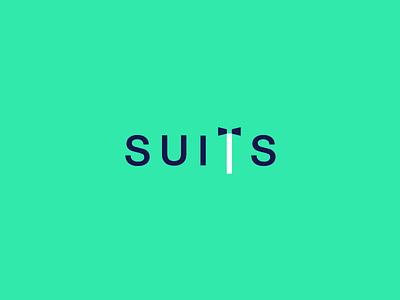 Suits Wordmark / Verbicons verbicons clever wordmark logos brand icon simple word monogram mark suits