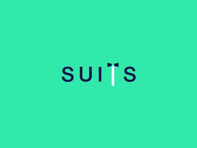 Suits Wordmark / Verbicons