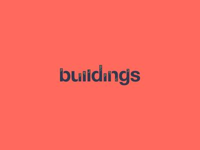 Buildings Clever Wordmark / Verbicons