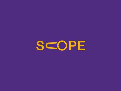 Scope Clever Wordmark / Verbicons