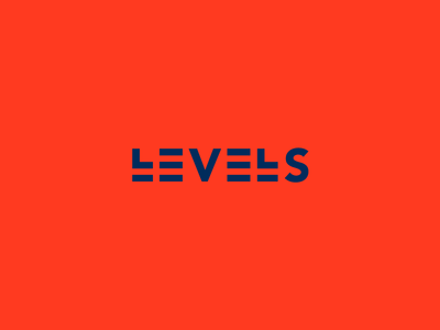 Levels Clever Wordmark / Verbicons