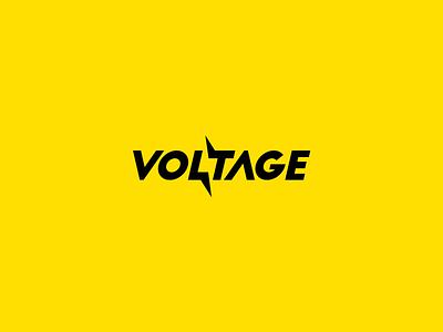 Voltage Clever Logo Wordmark / Verbicons typo monogram clever simple icon flat logos mark verbicons volt 2017 voltage