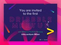 Dribbble Meeetup @Accenture Milan