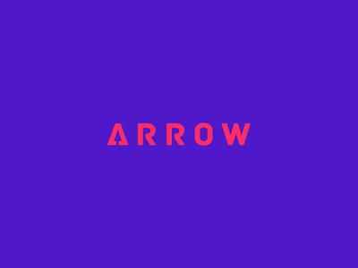 Arrow Clever Wordmark / Verbicons fast typo monogram clever simple logos enter iocn verbicons cool mark arrow