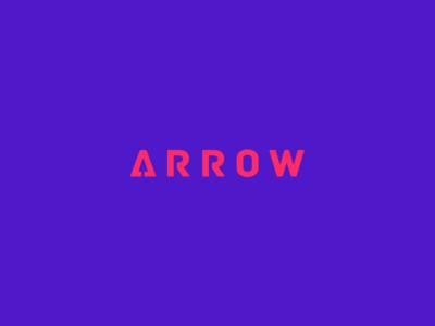 Arrow Clever Wordmark / Verbicons
