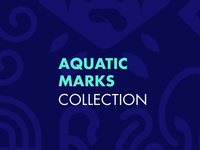 Aquatic logo collection