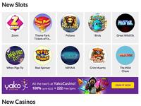 Slots Listings & Grid