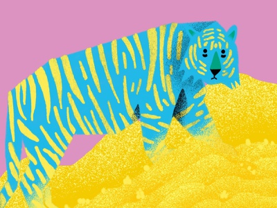 Stay Gold hype tiger behance branding beautiful procreate noise shadow noise illustrator illustrations illustration dribbble design colors art color palette colorful brazil artist andresuzuki