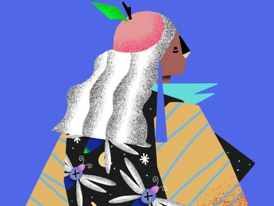 Willian Santiago draw woman hype behance beautiful procreate noise shadow noise illustrator illustrations illustration dribbble design colors color palette colorful brazil artist art andresuzuki