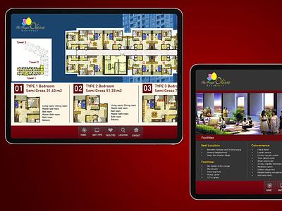Touchscreen Apartement (img 3) web ux ui branding design app