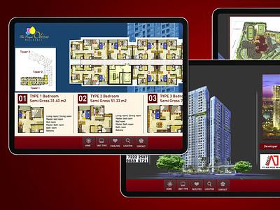 Touchscreen Apartement (img 2) ux ui design branding web app