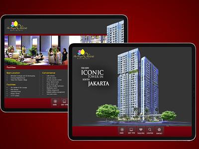 Touchscreen Apartement (img 1) ux ui web branding design app