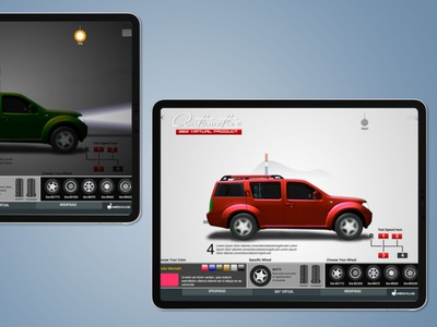 Otomotif Touchscreen (img 3) branding web design app