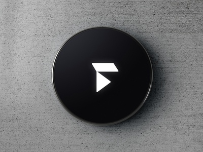 Faunder Logo No.04 Device Rendering