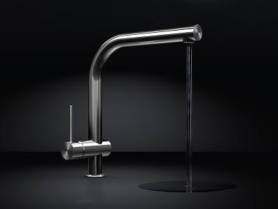Water tap water tap productshot rendering cinema4d c4d 3d julian hrankov