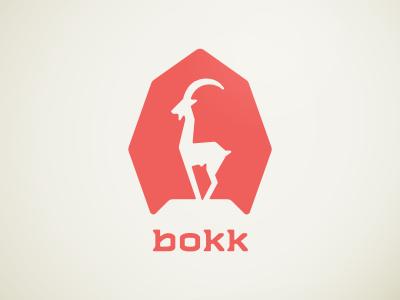 bokk springbok antelope ibex capricorn red octagon round custom custom type animal round corners slab art machine julian hrankov germany german made in germany