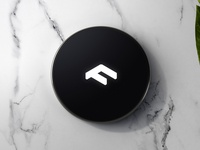 Faunder Logo No.03 Device Rendering