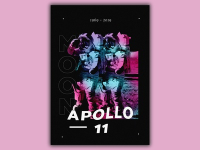 Poster - 50 Years Of Apollo 11