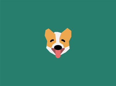 WIP - Corgi inspired logo for a pet center.