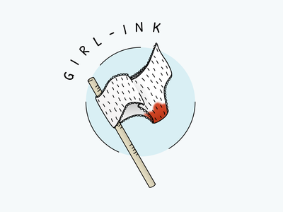 girl ink womens day women empowerment vector illustration girlpower feminism figma panties