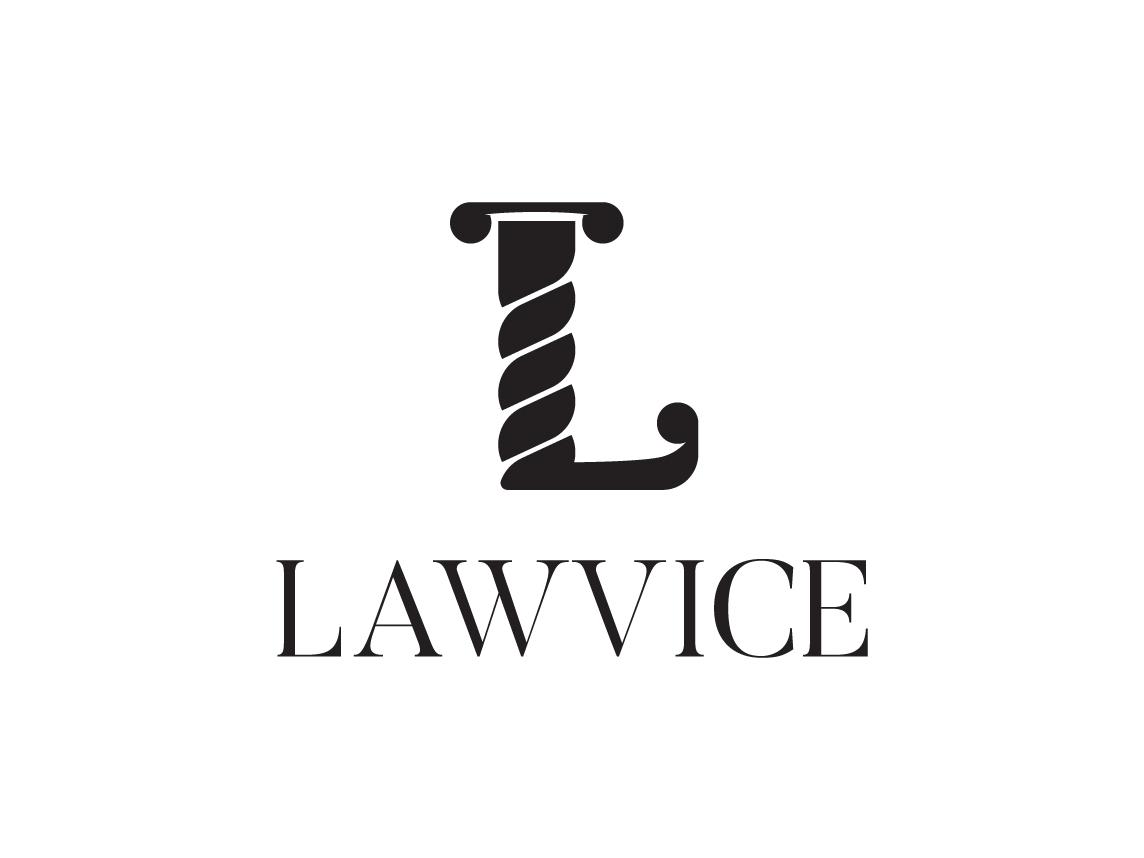Lawvice - Logo branding design logodesign hello dribbble hellodribbble firstshot design clean branding concept branding and identity branding agency branding