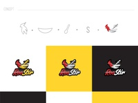 Roostir Logo Design Concept