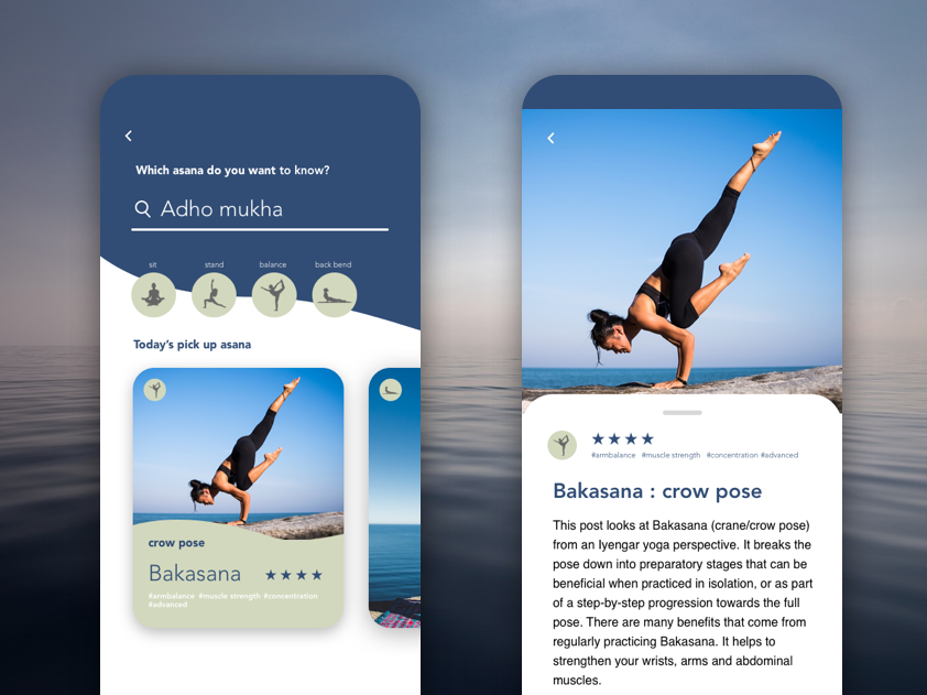 Search UI asana yoga search searching ui dailyui daily beginner daily 100 challenge
