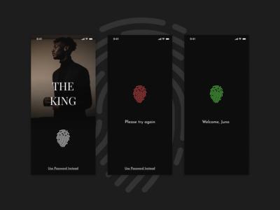 Fingerprint Screen Exploration