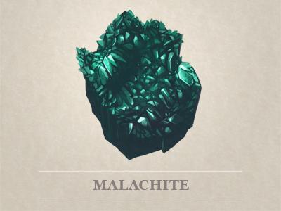 Malachite dribbble