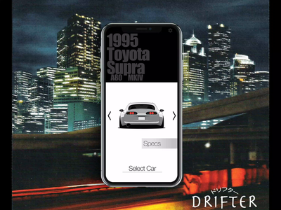 Drifter - Car Selection 2