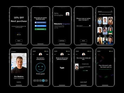 Recognition | Customer Survey customer feedback feedback ux ui design app mobile customer experience survey